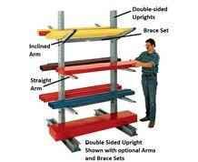 BRACES FOR  SERIES 1000 MEDIUM-DUTY CANTILEVER RACKS